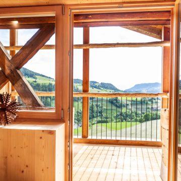 Balkon der Ferienwohnung Daimlhof