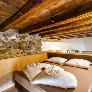 Ferienwohnung Schlernstein mit Doppelbett