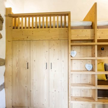 Hochbett am Daimlhof - Ferienwohnung Schlernstein