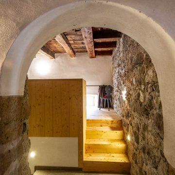 Eingangsbereich der Ferienwohnung Schlernstein